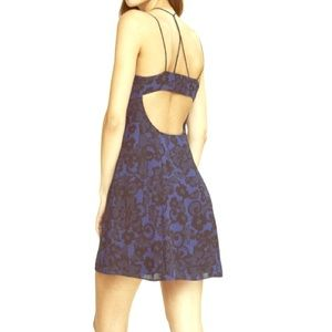Express. Dark blue cami dress extra small.
